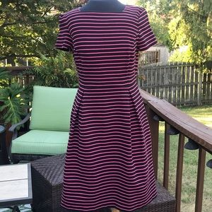Talbots striped dress size 4